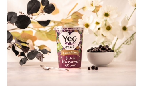 Introducing the Yeo Valley Organic RHS Limited Edition British Blackcurrant Yogurt