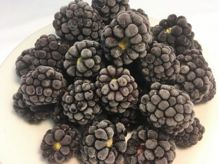 British Sweet Eating IQF Blackberries