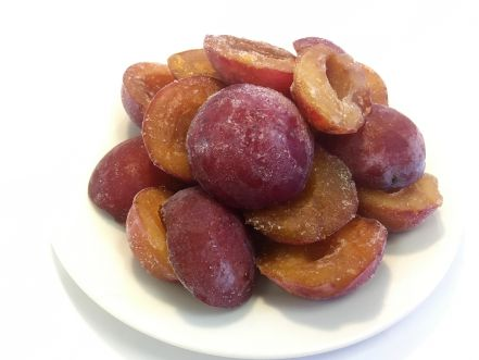 British Plum Halves
